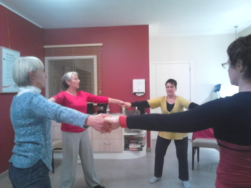 activité gymnastique à Cluny
